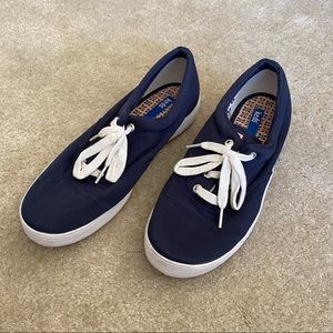 Keds Womens Navy Sneakers Lace up